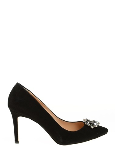 D by Divarese Topuklu Klasik Ayakkabı Siyah